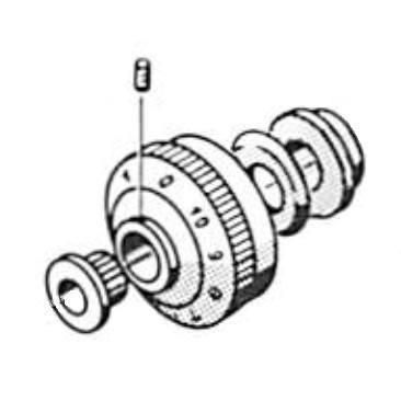 Thread Tension Assembly, Pfaff #91-106350-91 : Sewing