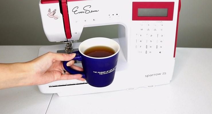 Cold Brew Coffee Sewing Machine EDITED