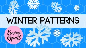 winter sewing pattern