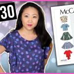 Sew With Me! McCall's M7630 Misses' Tops 👚 Easy Sewing Pattern