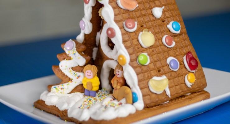 Trader Joe's Gingerbread House Kit | Handmade Holidays