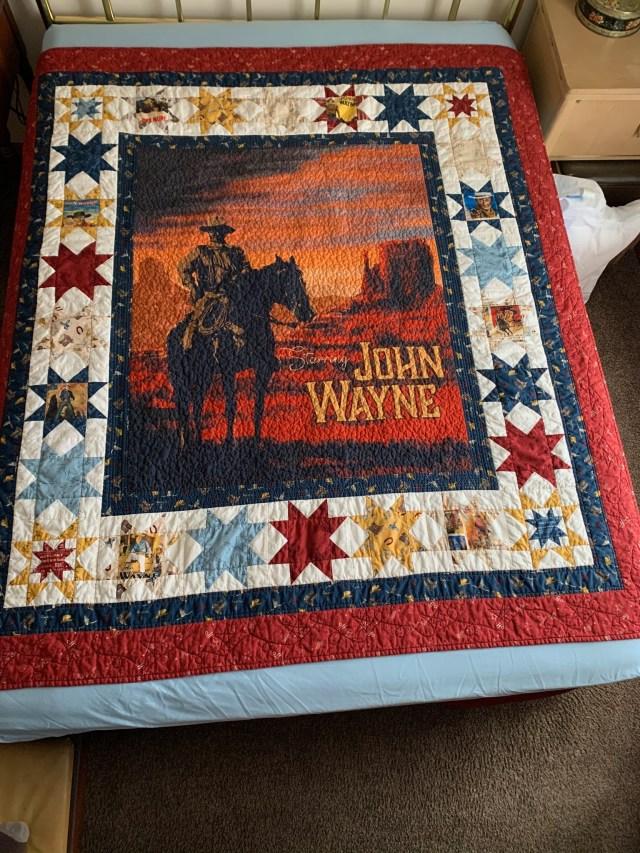 Complete John Wayne Quilt