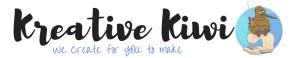Logo for Kreative Kiwi