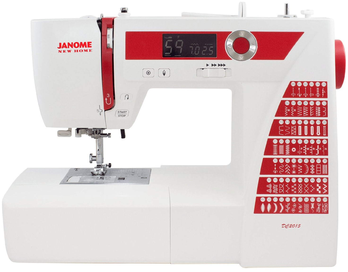 Janome DC2015 Review