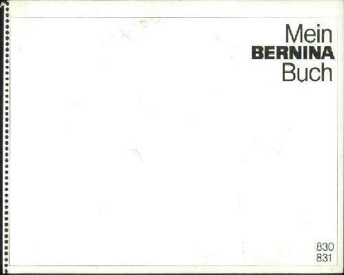 Bernina Sewing Machine Manuals