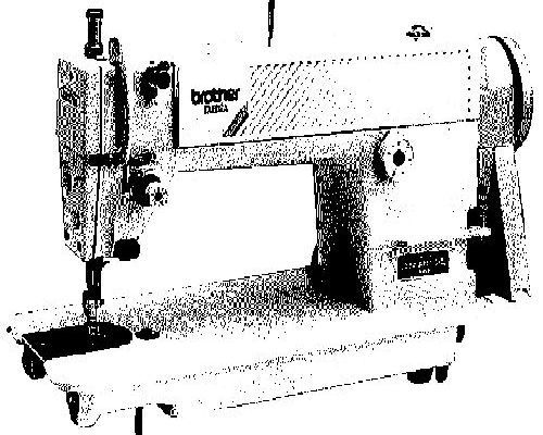 Brother DB2-B737 Industrial Sewing Machine Manual