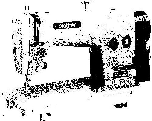 Brother Industrial Sewing Machine Manuals