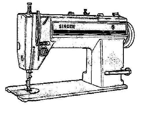 Singer Industrial Sewing Machine Instruction Manuals page 5