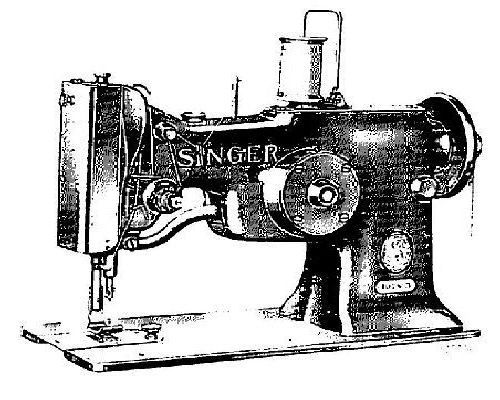 Singer Industrial Sewing Machine Parts Manuals List 3