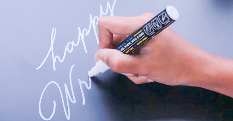 How to Use a Chalk Marker