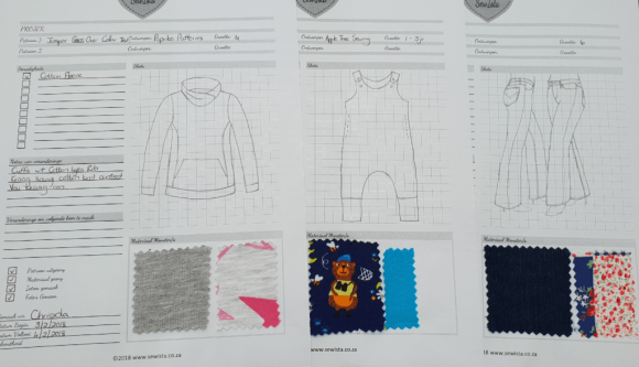Sewing Project Tracker Examples