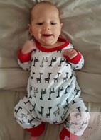 Cute Baby in SewIsta outfit