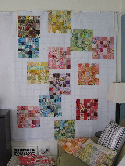 Dual Or Layered Quilt Design Walls For Small Spaces