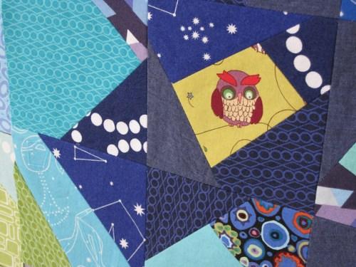sewkatiedid/Night Owl Quilt