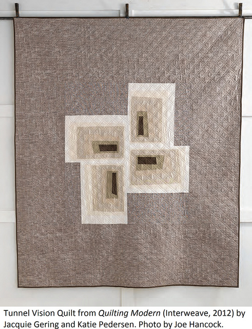 sewkatiedid/tunnel vision quilt from Quilting Modern