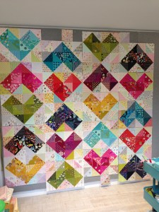 SEW KATIE DID:Warm and Cool Hearts Value Quilt Tutorial:Full