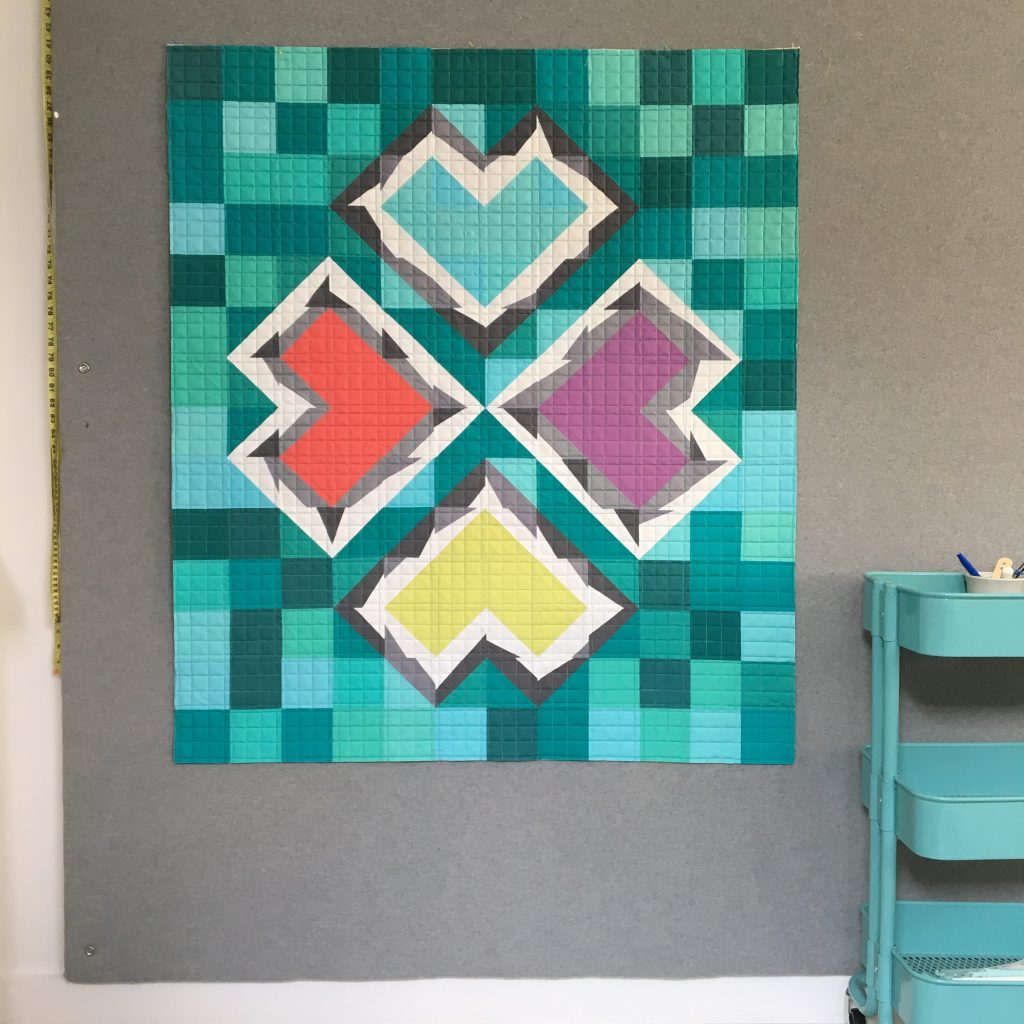 Sew Katie Did | Seattle Modern Quilting & Sewing Studio | Double-Trouble Quilt Block workshop
