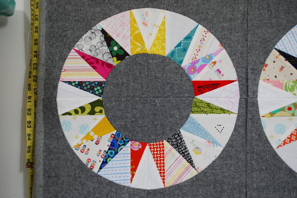 sew katie did   Scrappy NY Beauty Quilt Block