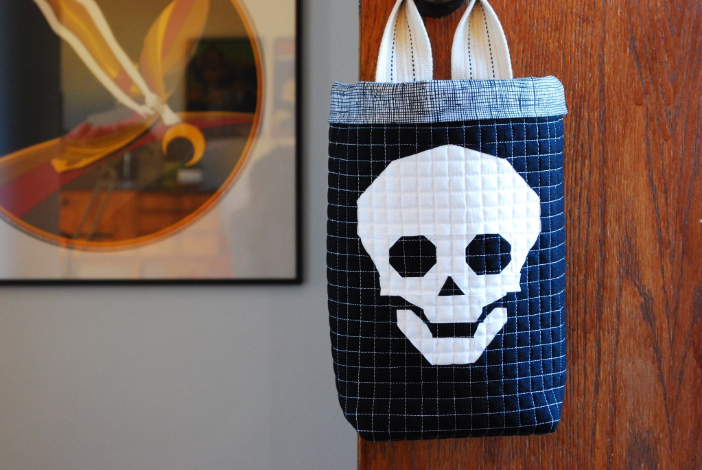 sew katie did | Seattle Modern Quilting & Sewing Studio | hanging halloween candy bag
