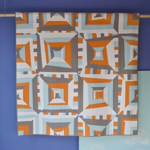 sew katie did | Seattle Modern Quilting and Sewing Studio | Side-Lined Quilt