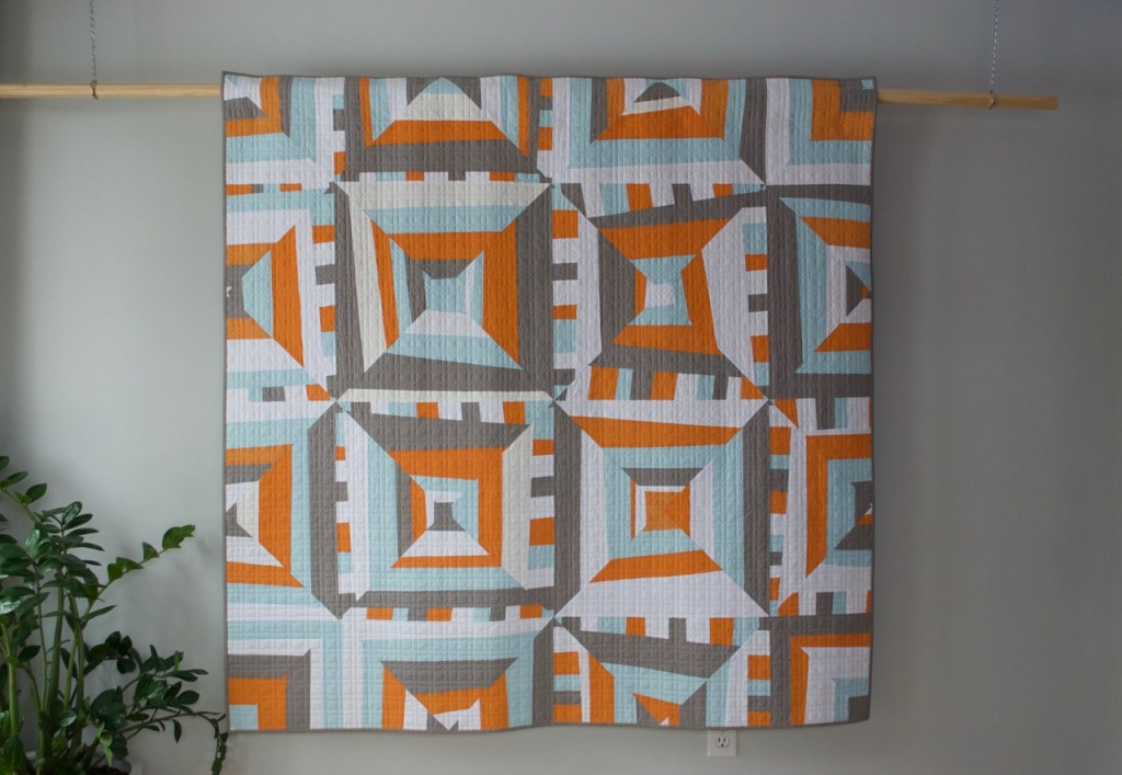 sew katie did | Seattle Modern Quilting and Sewing Studio | Improvisational Strip Piecing Quilt Workshop