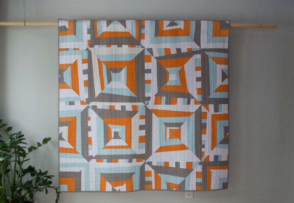 sew katie did | Seattle Modern Quilting and Sewing Studio | Improvisational Strip Piecing Quilt Workshop