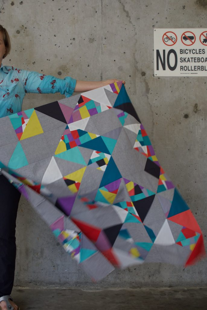 SEW KATIE DID | Seattle Modern Quilting & Sewing Studio | Crumb Quilt