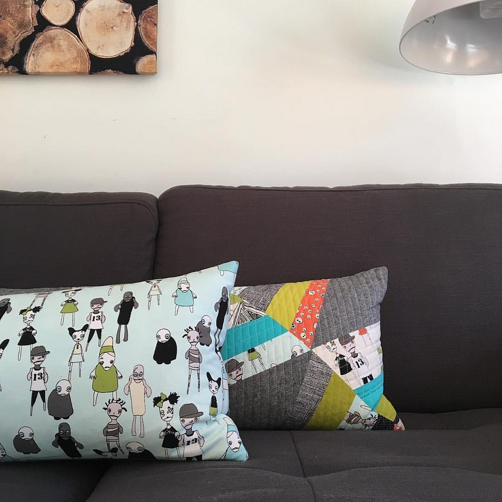 sew katie did | Seattle Modern Quilting & Sewing Studio | halloween pillows