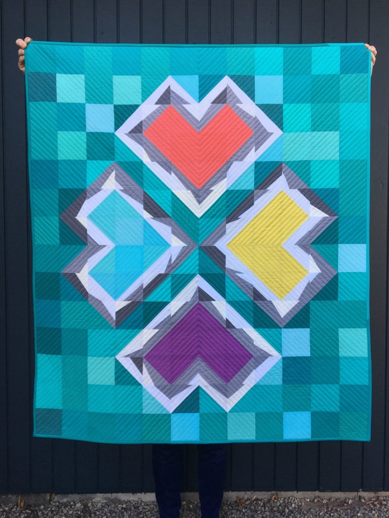 sew katie did | Seattle Modern Quilting and Sewing Studio | Double-Trouble Heart Workshop