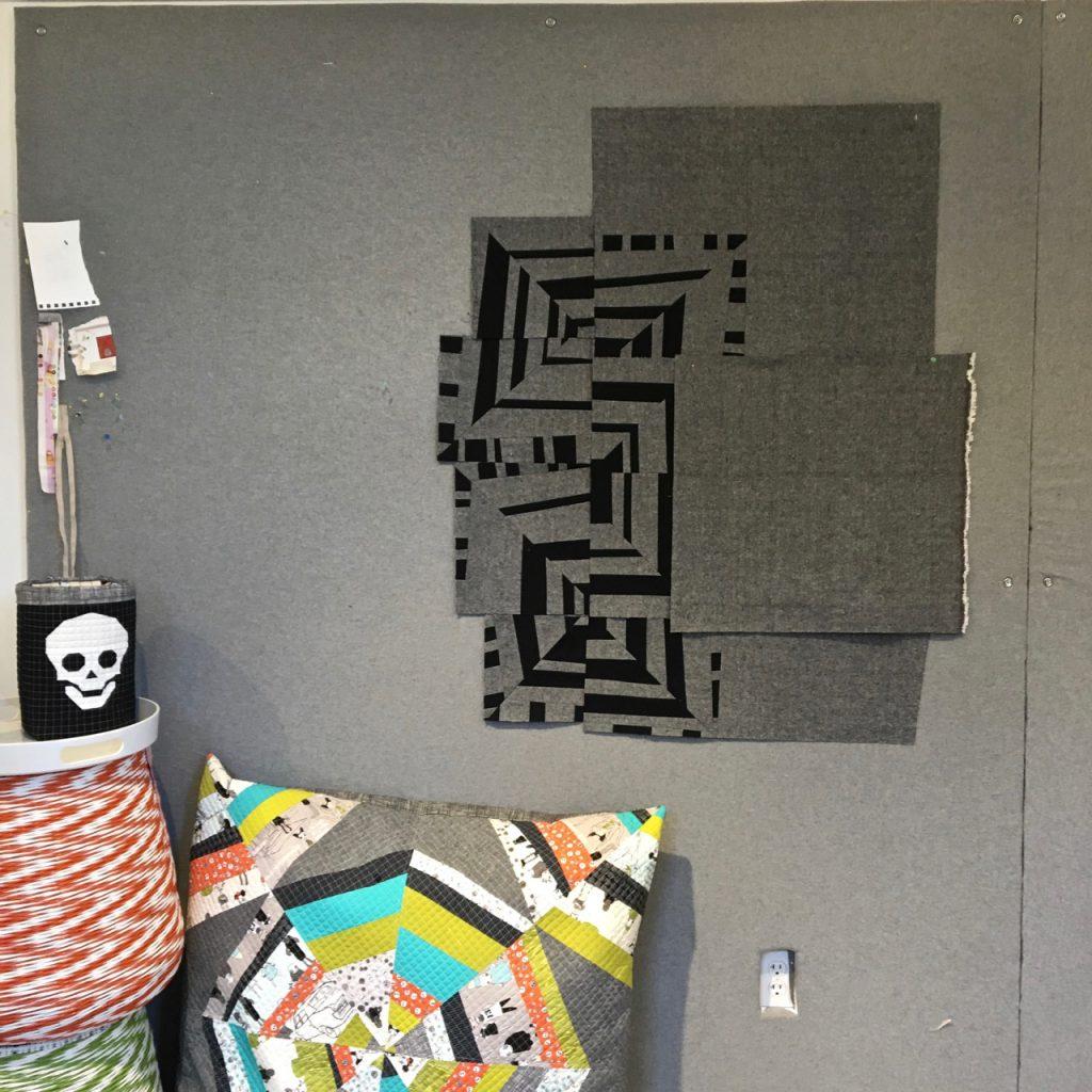 sew katie did | Seattle Modern Quilting & Sewing Studio | Improv Paneling Tutorial