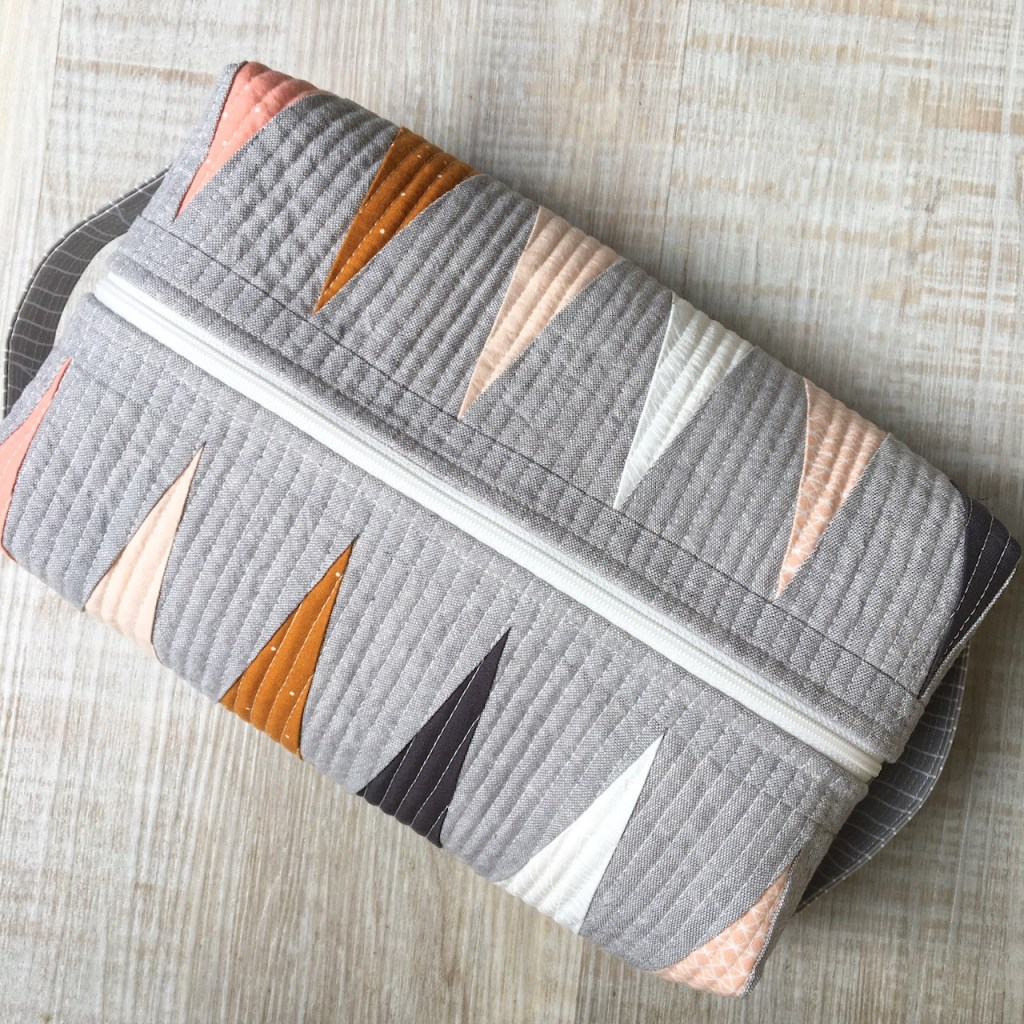 Sew Katie Did | Seattle Modern Quilting & Sewing Studio | Box Pouch Pattern