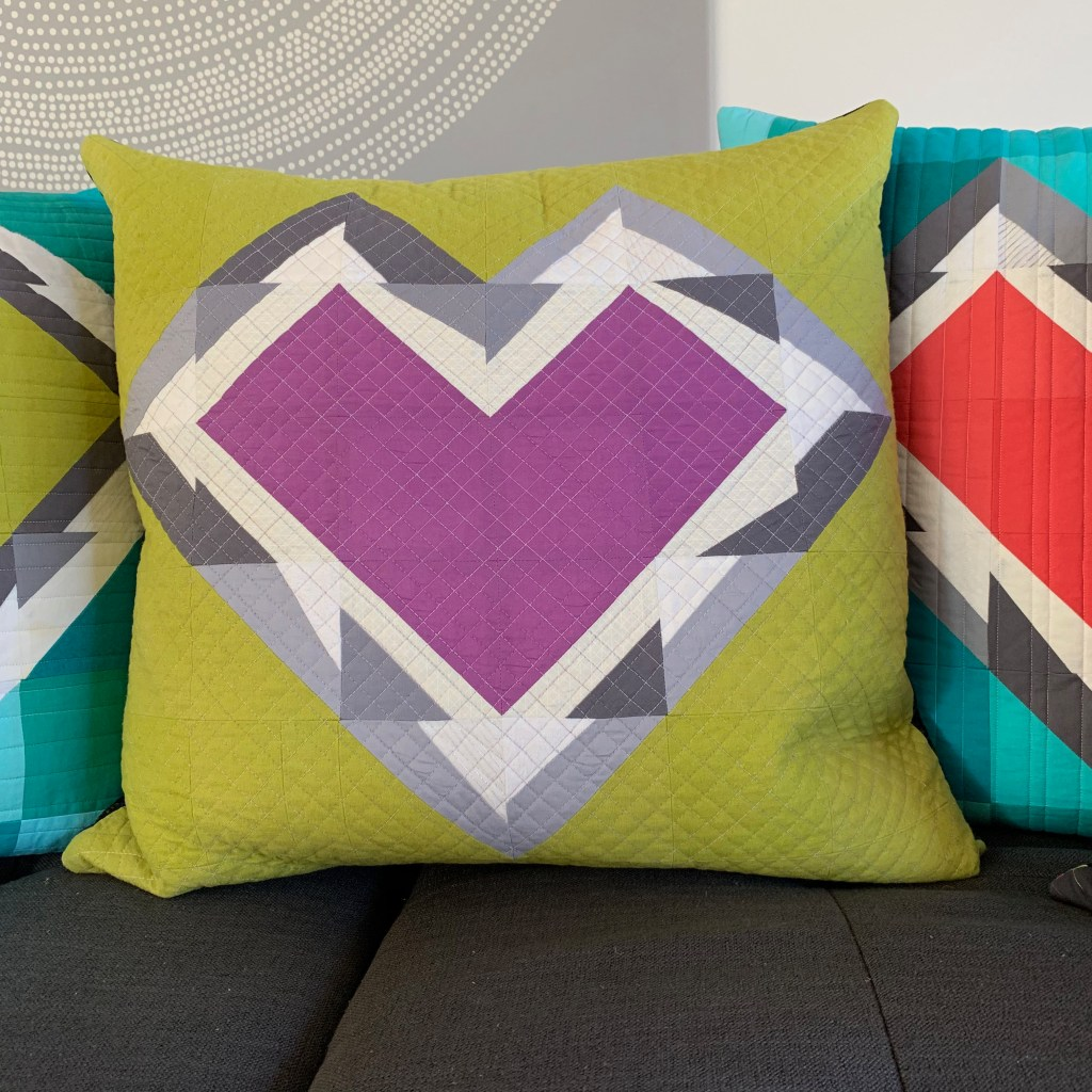 sew katie did | Seattle Modern Quilting & Sewing Studio | Splintered Hearts