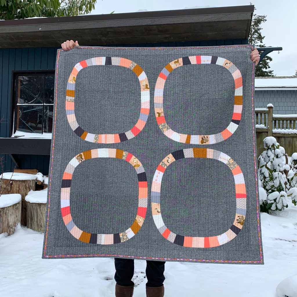 sew katie did | Seattle Modern Quilting & Sewing Studio | Free-Wheeling Girl Quilt
