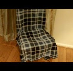 How to make chair covers without sewing