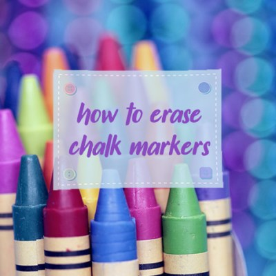 How to Erase Chalk Markers? Clean Your Chalkboard in 3 Attempts