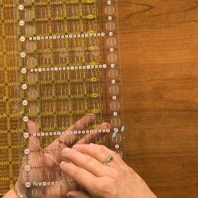 How to Use Quilting Rulers