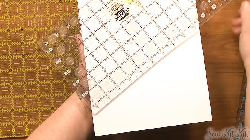 How to Use Quilting Rulers 7