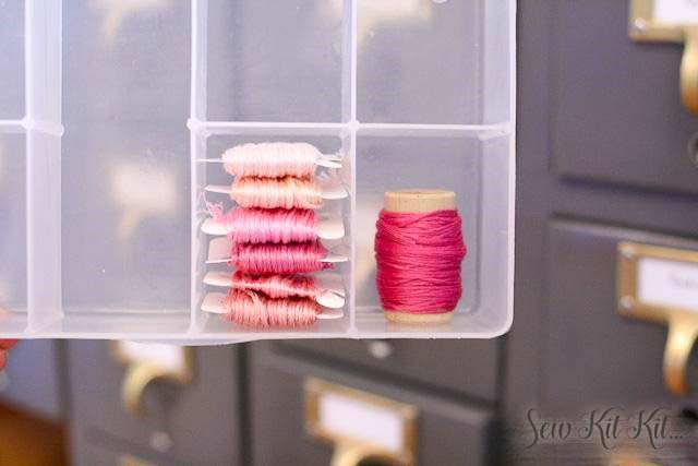How to store embroidery floss 9