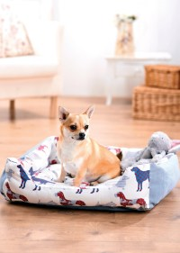 Dog Print Dog Bed and Coat - Free sewing patterns - Sew ...