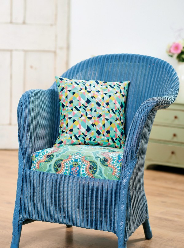 Art Fabrics Upholstered Chair - Free Sewing