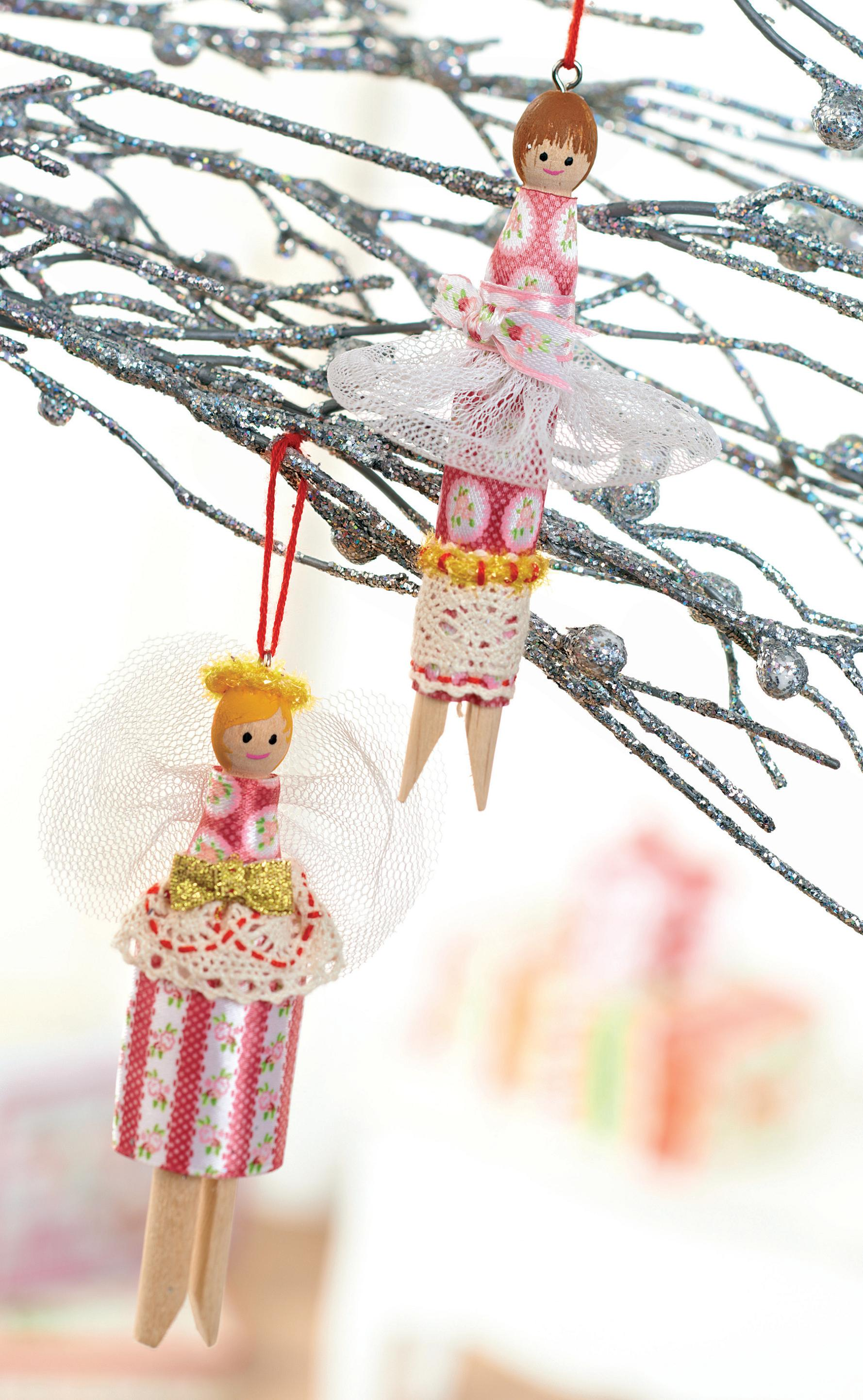Vintage Wooden Peg Christmas Angel Free Sewing Patterns