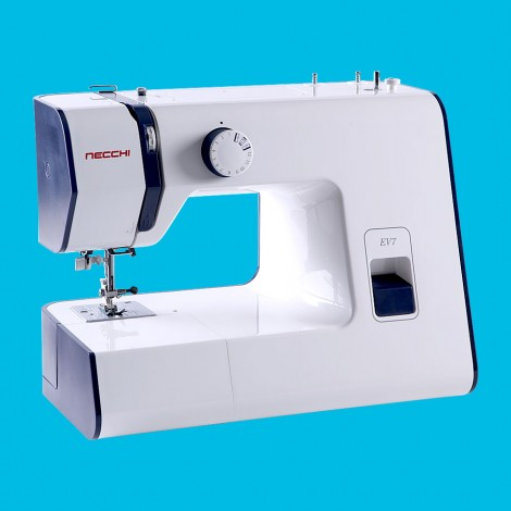 EV7 This machine is compact in size but big on sewing quality.