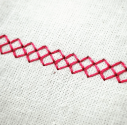 Sparrow 15 Double Cross stitch