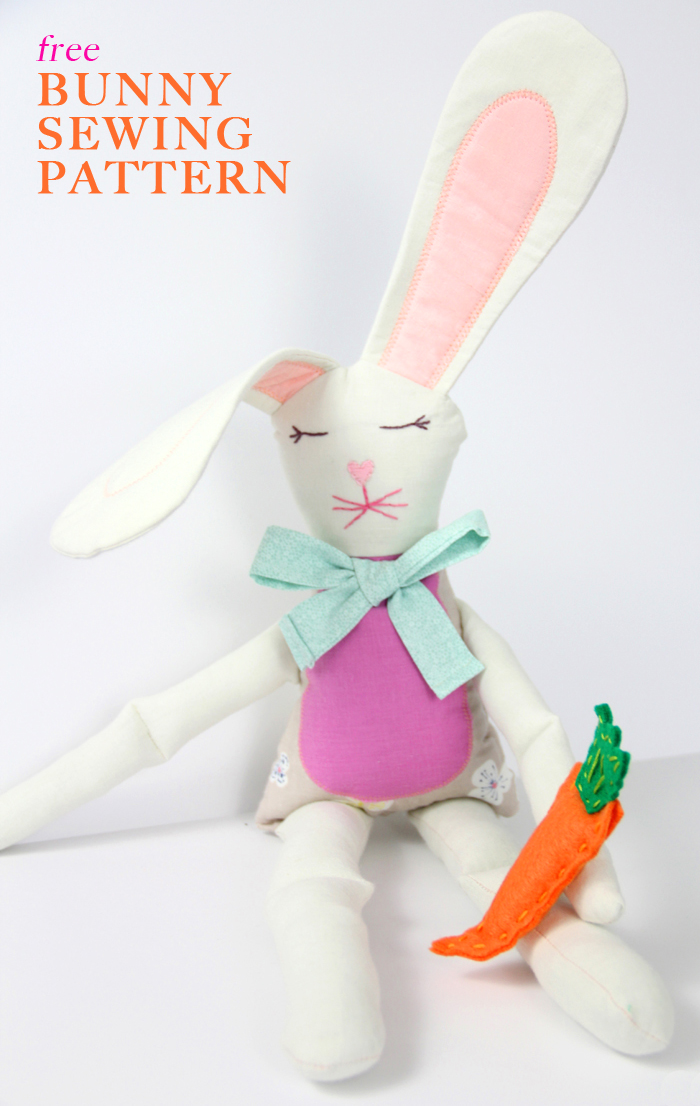 15 Bunny Projects To Sew  Sew Much Ado