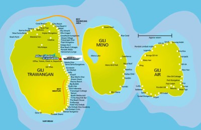Gili Islands - close to Bali | Austro indonesian Arts Program
