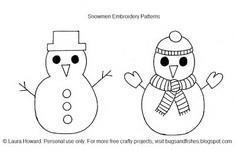 100 Snowman Patterns to Sew at SewPin.com