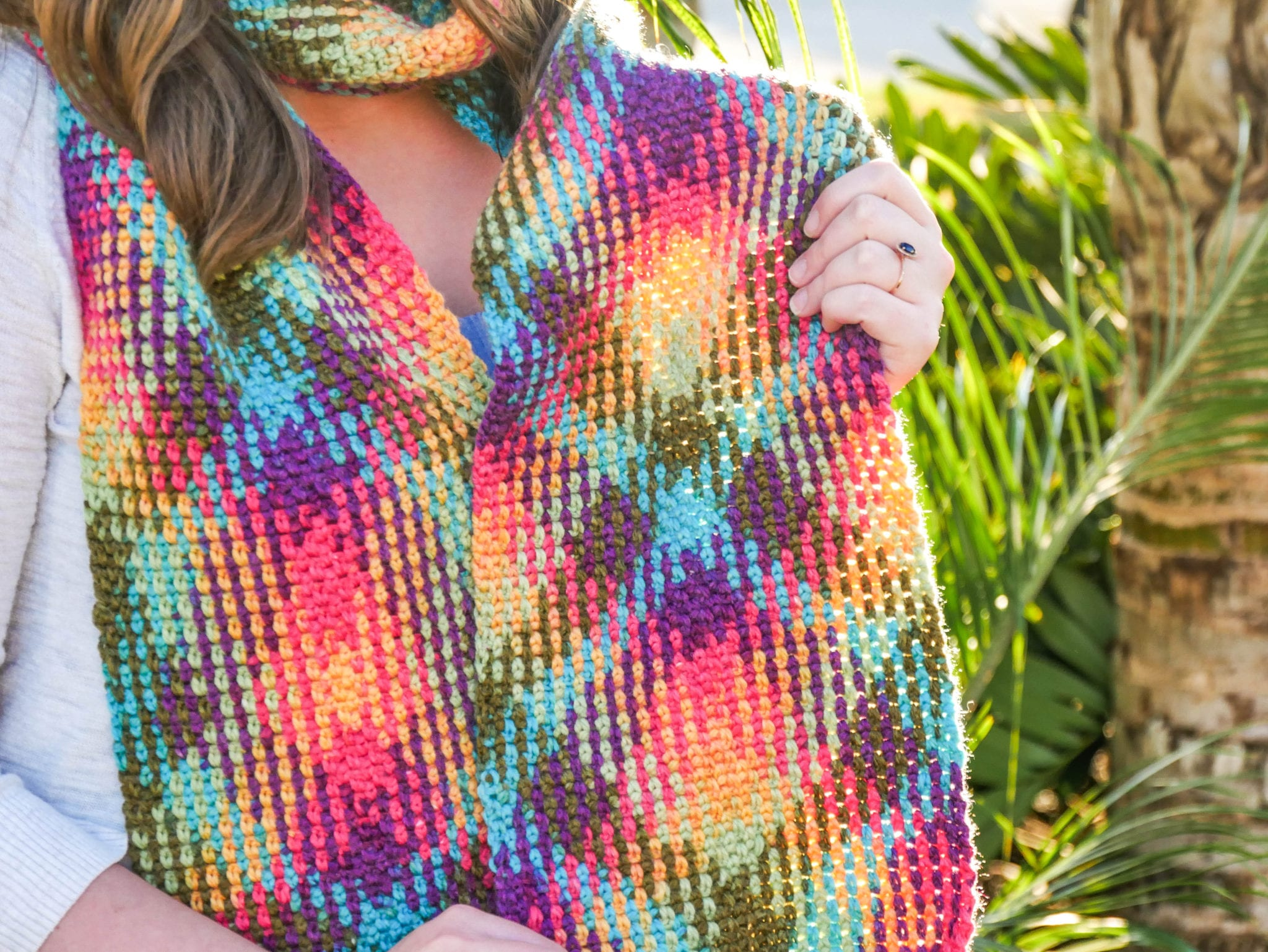 Planned color pooling magic sewrella i wanted to tell you all about a super cool crochet project that is easy to make and produces stunning results bankloansurffo Choice Image