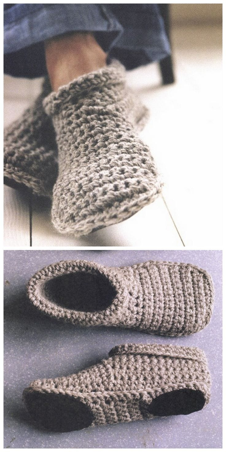 7 crochet shoes you need to make sewrella womens crochet boat slippers dt1010fo