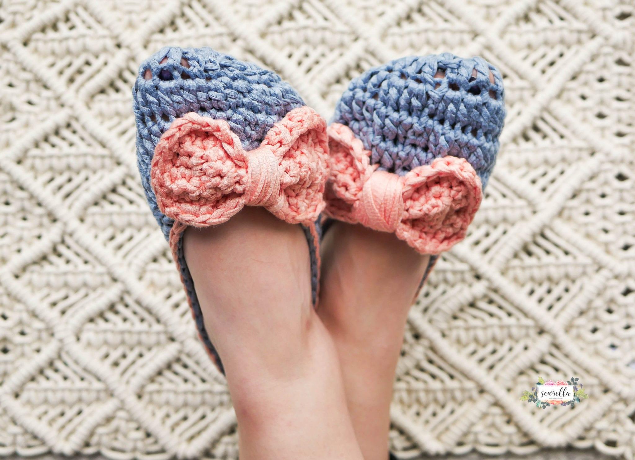 Crochet Ophelia House Slippers - Sewrella