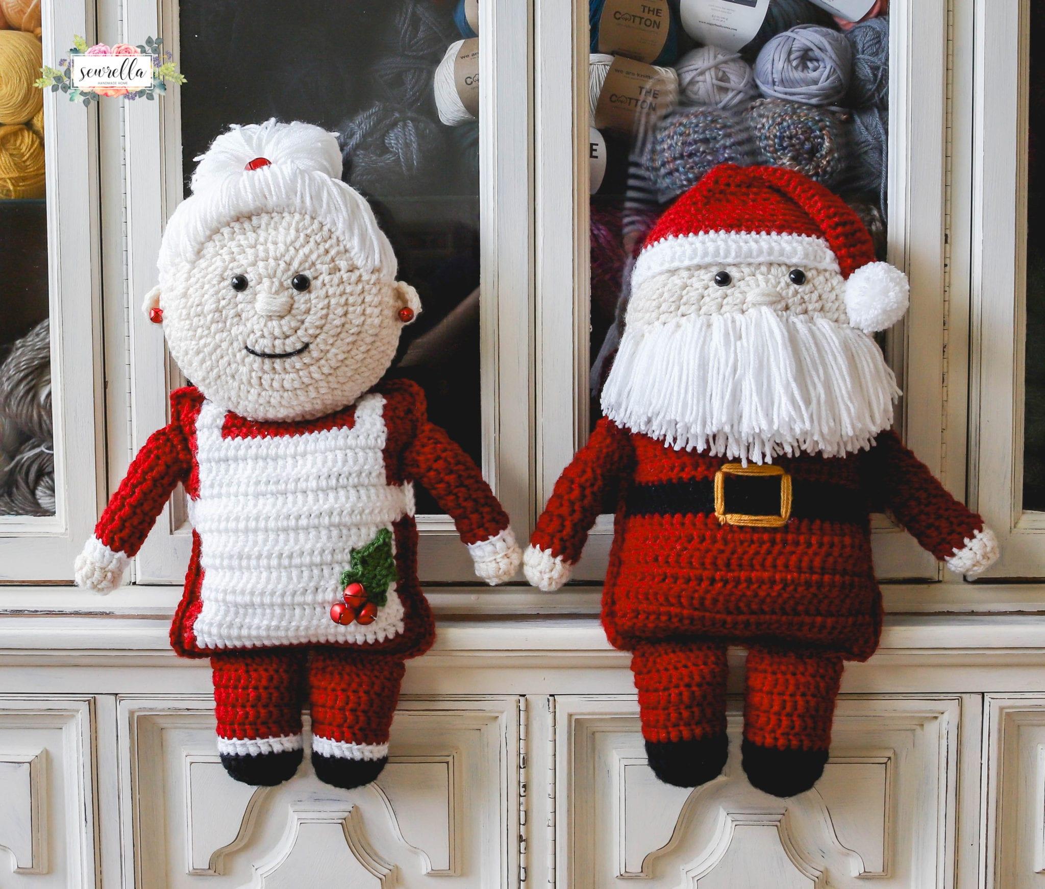 Crochet Mrs. Claus - Sewrella
